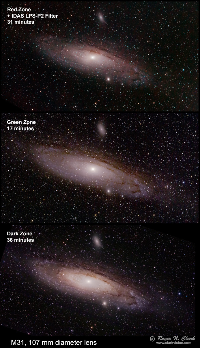 Astrophotography and Exposure, Clarkvision com