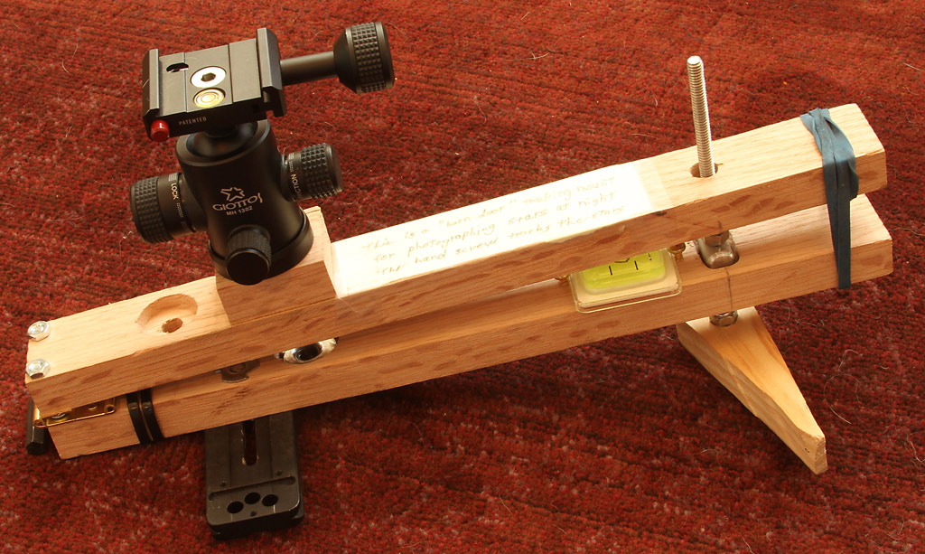 Barn Door Tracking Mount Nightscape Photography Clarkvision Com