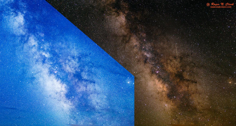Comparison  processing to make a blue sky (left) d53f311c9