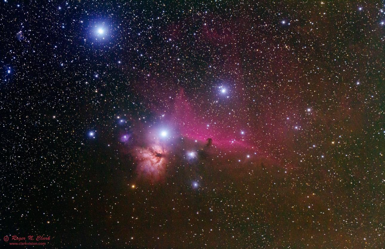 nebula in orion the horsehead nebula - photo #12