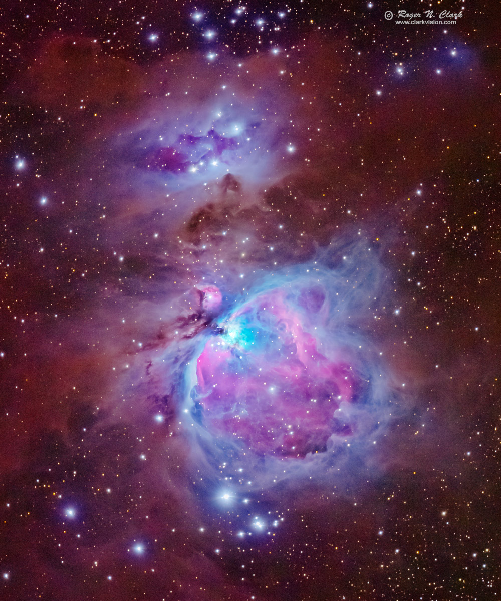 ClarkVision Photograph - The Great Orion Nebula, Messier 42